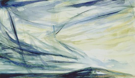 """Paysage"" aquarelle"